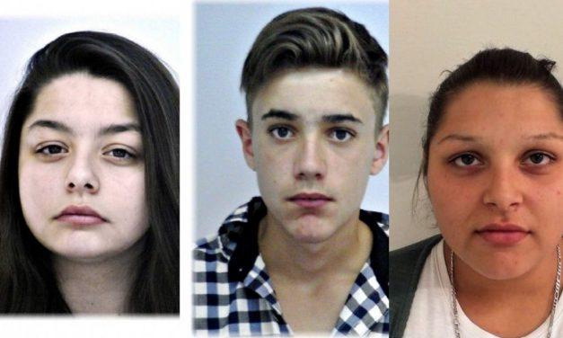 Három Fejér megyei kamaszt keres nagy erőkkel a rendőrség – Nem kizárt, hogy együtt szöktek meg, hetek óta semmiféle életjelet nem adtak magukról