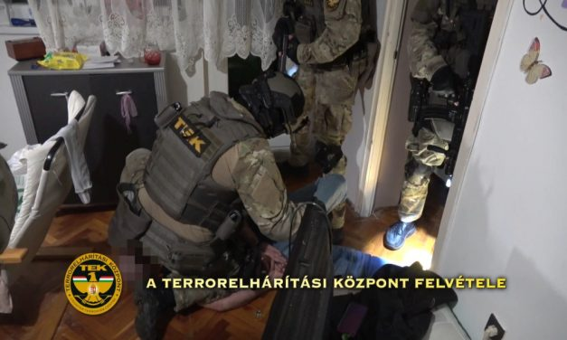 Lecsaptak a pikó drogot áruló szlovák bandára – videó