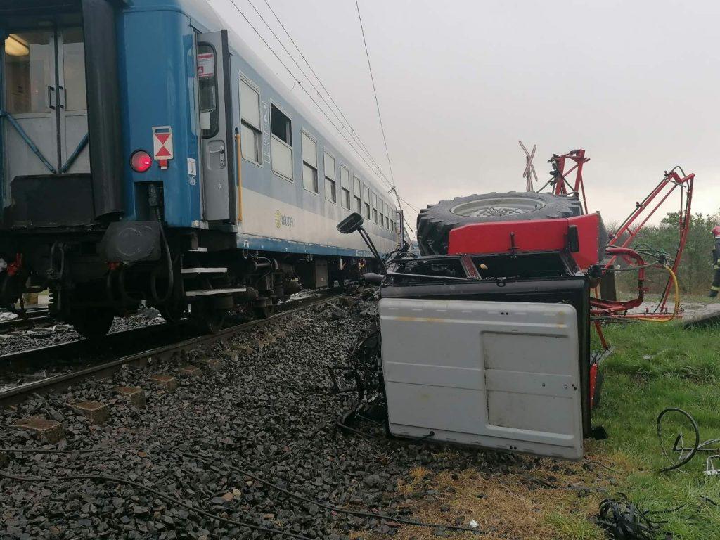 Vonatbaleset Újfehértó