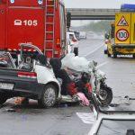 Halálos baleset az M5-ösön: közutas autóba csapódott egy jármű, egy ember meghalt, hárman megsérültek