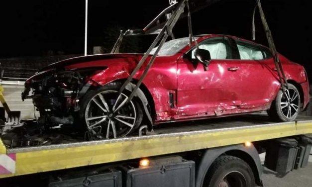Bevonták az Edda dobosának jogsiját, miután részegen balesetezett és totálkárosra törte az autóját
