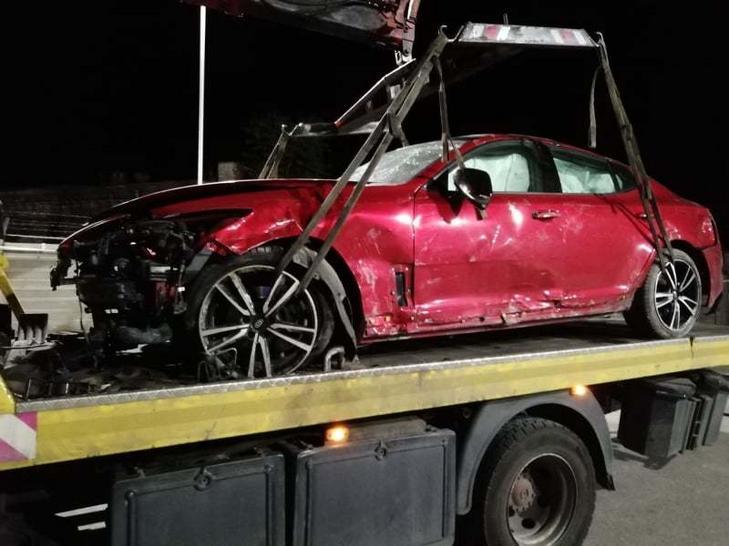 Részegen, totálkárosra törte autóját az Edda dobosa, bevonják Hetényi Zoltán jogosítványát