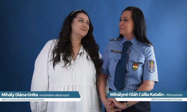 """""""Köszönöm, hogy vagy nekem!"""" – megható videóval köszönti az édesanyákat a rendőrség"""