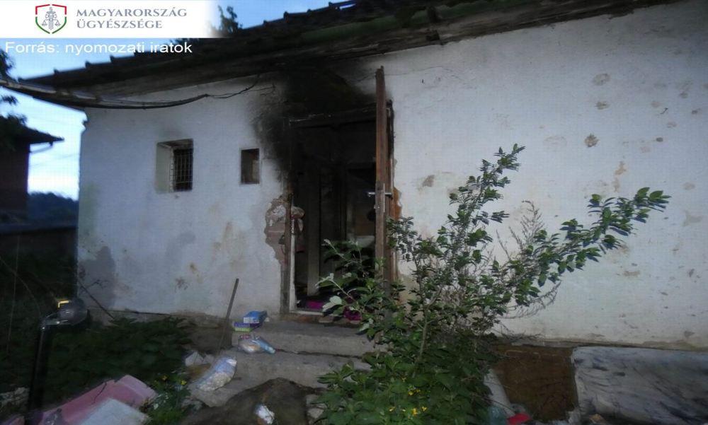 Segítségnyújtás helyett hagyta meghalni társát az égő házban egy salgótarjáni nő