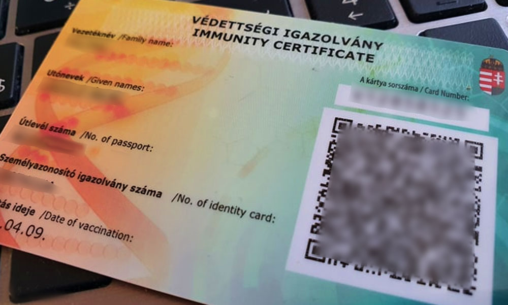 Nem kaptak koronavírus elleni vakcinát, 60 ezer forintért mégis tudtak oltási igazolványt venni az orvosi asszisztenstől