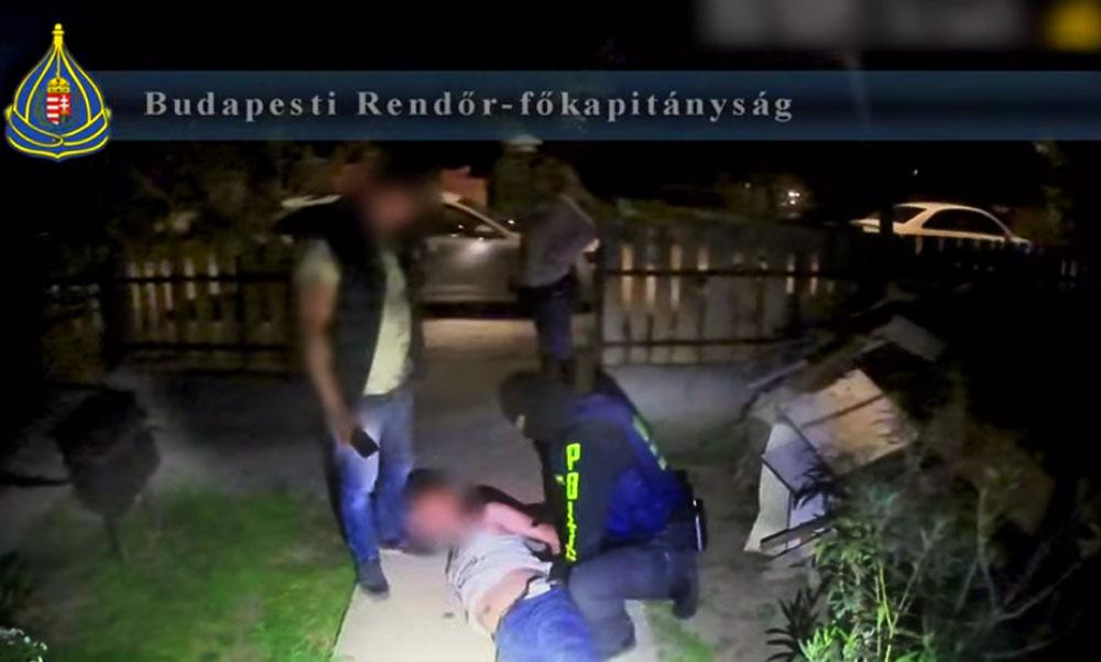 Rajtaütés a drogdílereken, három férfit fogtak el a rendőrök, de a drogbáró most is megúszta