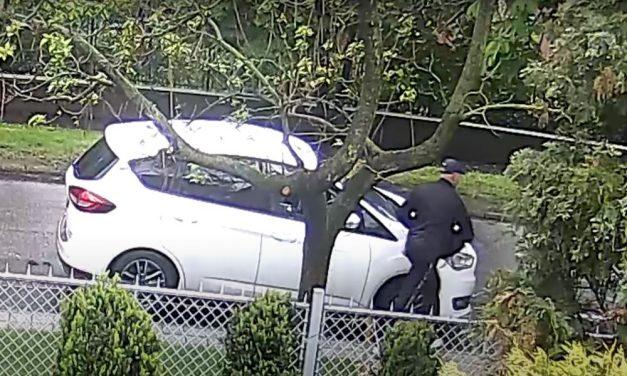 Betörte a kocsi ablakát, majd kilopta az anyósülésről a táskát egy cinkotai férfi – a rendőrség őt keresi