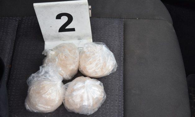 Majdnem fél kiló kábítószerrel bukott le a békési testvérpár