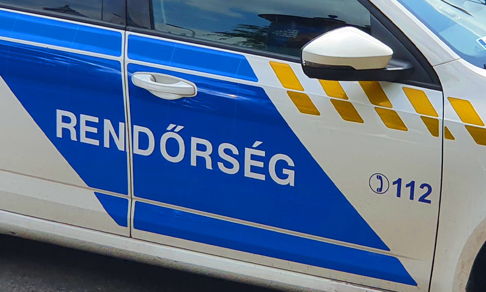 Vörös volt a szeme a 26 éves fiatalembernek, rögtön lekapcsolták a balatonfüredi rendőrök