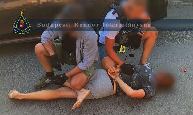 Rendőrség, kiszállás az autóból! Kábítószer-kereskedőket fogtak el Budapesten, elképszetően gyors volt az akció