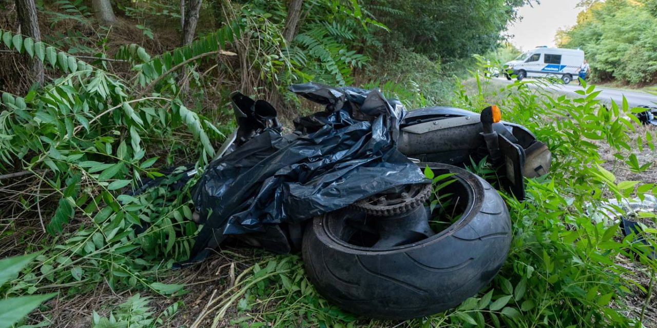 A női utas meghalt, két brutális motorbaleset történt vasárnap