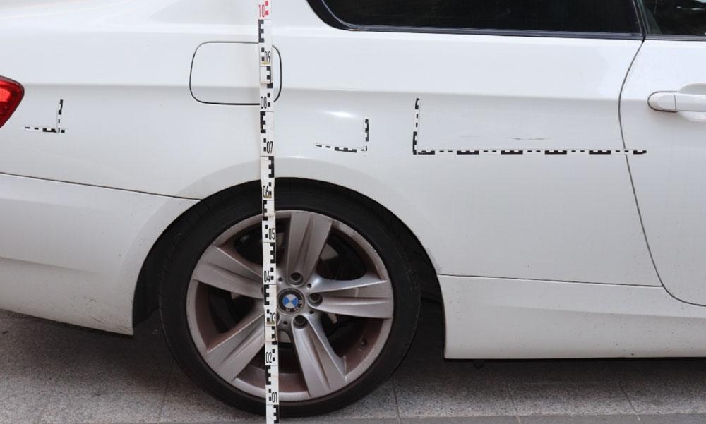 A rendőrök is meglepődtek, amikor meglátták azt a tettest, aki 22 autót karcolt végig Budapest belvárosában