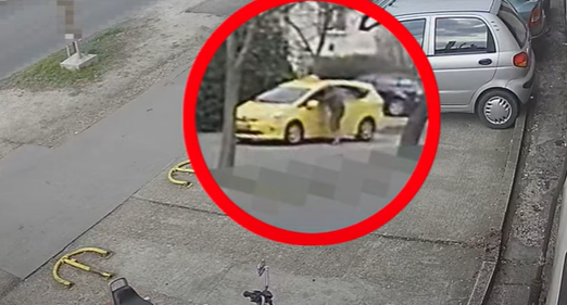 Késsel támadtak egy taxisra Budapesten, videó is látható az esetről