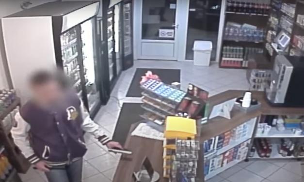 Videón a teleszkópos fémrúddal támadó férfi, mindössze 6 órán át volt szabadon a rablás után
