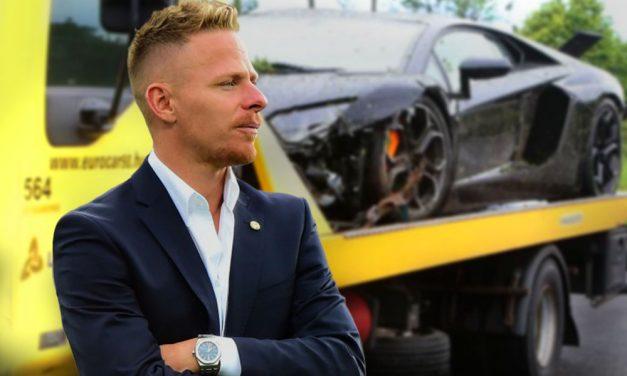 Dzsudzsák Balázs 130 milliós Lamborghinit tört össze az M3-as autópályán – sztárok közúti balesetei
