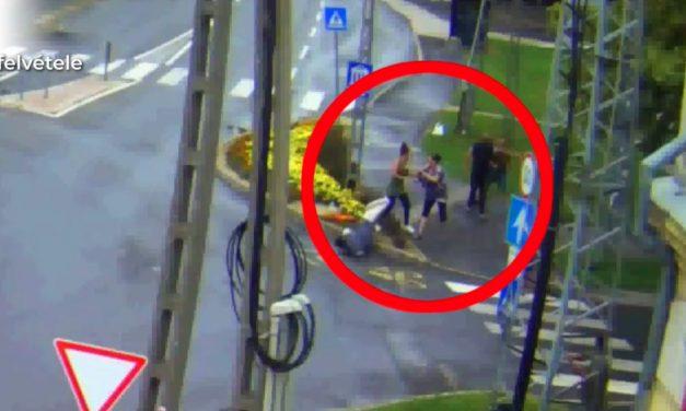 Ütötték-verték egymást az asszonyok az utcán, hatalmas csetepaté lett a vitából, videón a kaposvári balhé